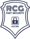 RCG FAST SECURITY LOGO